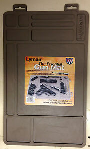 Details About NEW Lyman Essential Gun Mat Molded Storage  Compartments Worldwide Ship