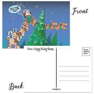 Long-Night-Funny-Christmas-Postcards-50-Postcards-4-x-6-in-Postcards-17008