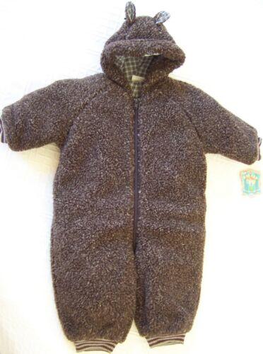 68 und 74 Baby Einteiler aus Teddyfell NEUWARE OILILY Winter Overall Gr