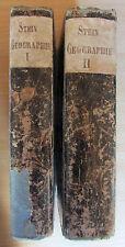 D. Stein: Handbuch der Geographie und Statistik, Band I und II, 1819