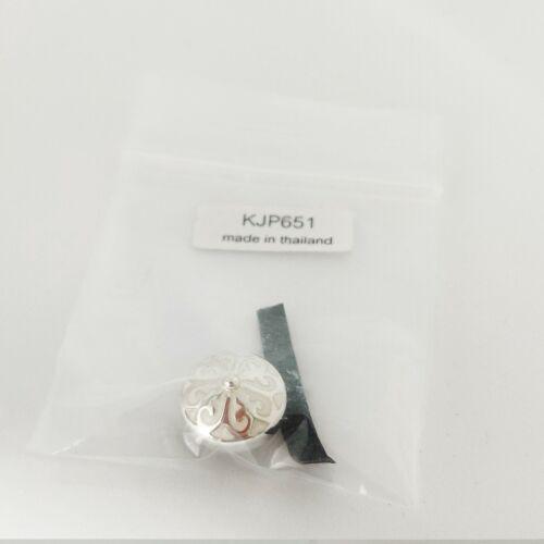 Nuevo Kameleon Crema minarete plata esterlina jewelpop KJP651