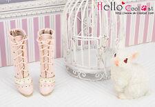 ☆╮Cool Cat╭☆【07-03】Blythe Pullip  High Heel Boots.Pink
