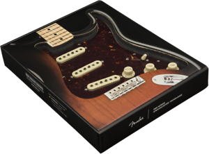 Genuine-Fender-Pre-Wired-Strat-Pickguard-Tex-Mex-SSS-Tortoise-Shell-11-hole