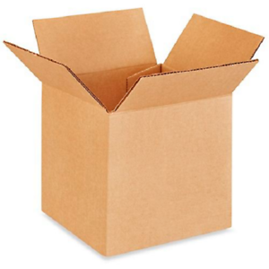 6x6x6 Shipping Packing Mailing Box Corrugated Carton 100 Boxes 50 each 4x4x4