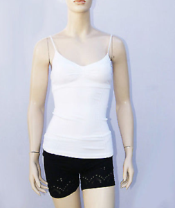 New-Bebe-Womens-Padded-Bra-Cami-Essential-Thin-Strap-Tank-Top-Multicolors-14