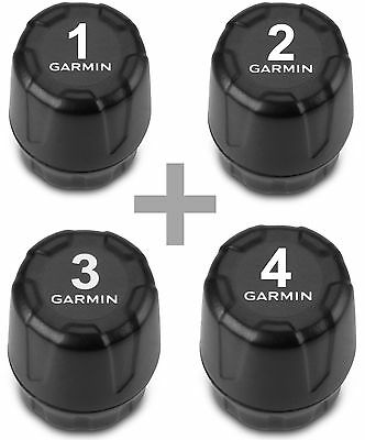 Garmin Tire Pressure Monitor Sensor for zumo 390LM and 590LM 010-11997-00 4 Pack