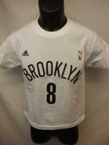New-minor flaw Deron Williams #8 Brooklyn Nets adidas Youth Size S-L Shirt