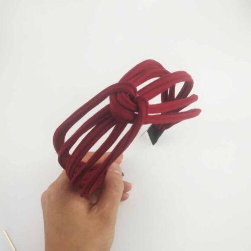 Korean style Cross Hairband Sweet Handmade Headwear Head Hoop Hairband Headband