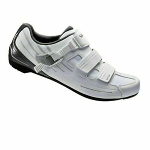 Shimano-RP3-SPD-SL-Road-Cycling-Riding-Shoes-WHITE-Wide-fit