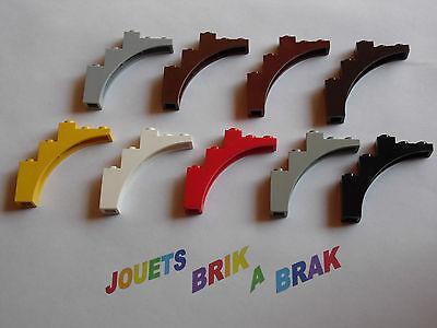 Dark Gris Pierre x2 3308 Lego Arche 1x8x2