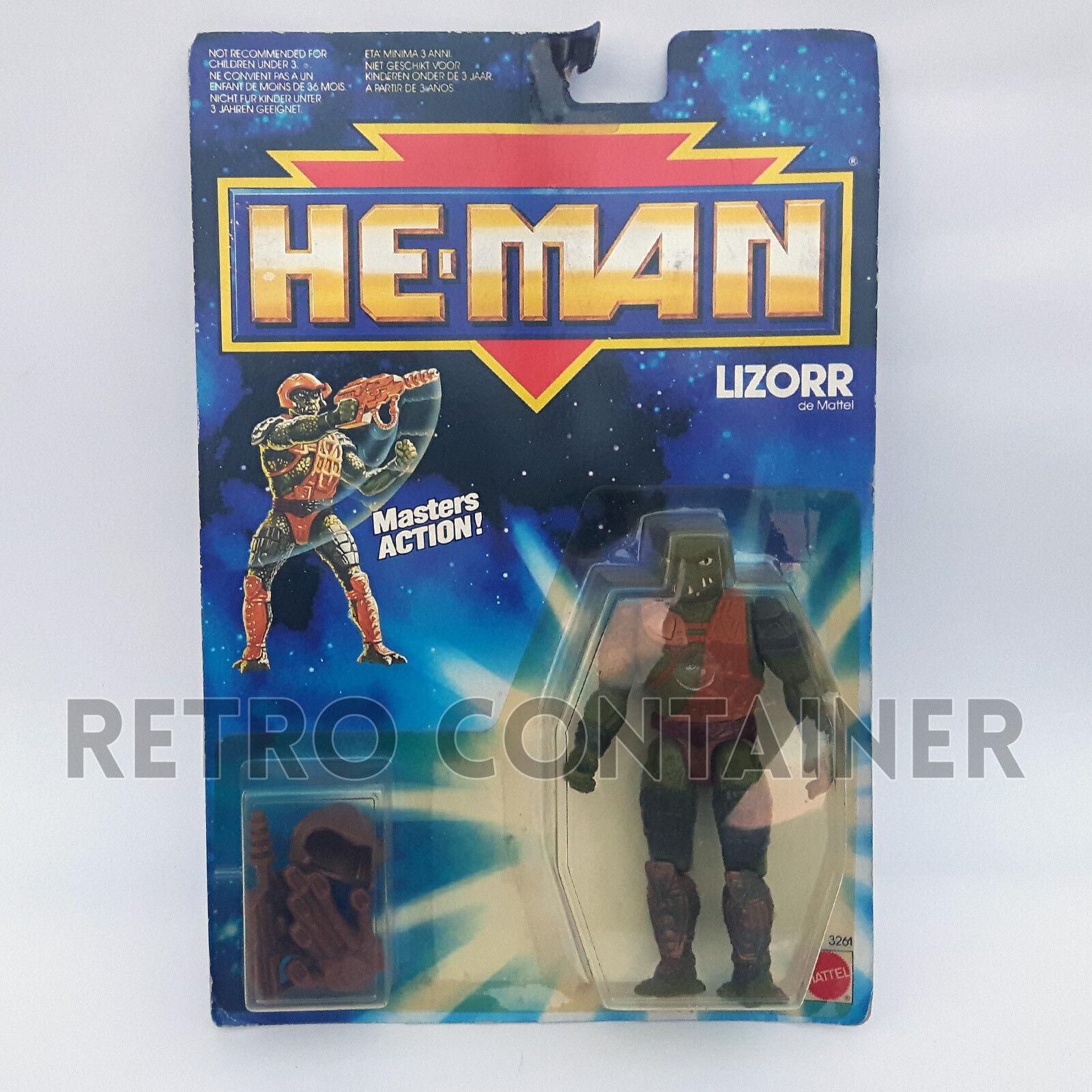 NEW ADVENTURES OF HE-MAN - MOTU - Lizorr MISB MOC NEW Sealed