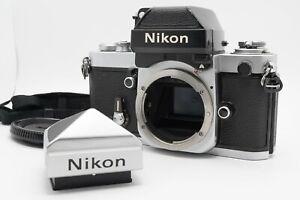 [N MINT] Nikon F2 Late Model Body Photomic A & Eye Level Finder DP-11 DE-1 Japan
