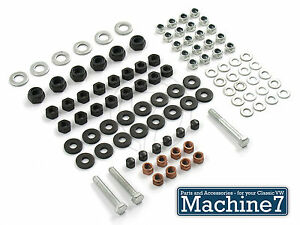 Details about Classic VW Beetle Engine Crankcase 8mm Hardware Fittings Nuts  Kit Bug Bus Camper