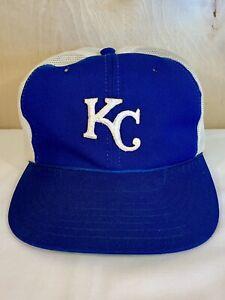 e2a7702e81b46 Image is loading Vintage-Snapback-Cap-Hat-Baseball-Kansas-City-Royals-