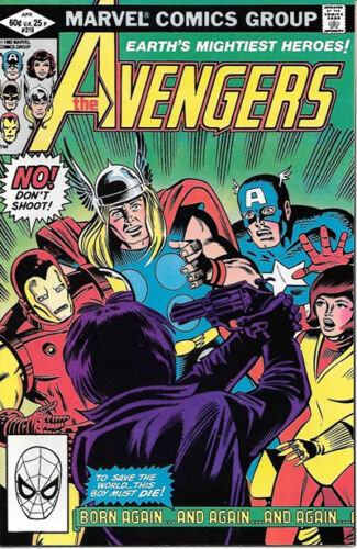 The Avengers Comic Book #218 Marvel Comics 1982 VERY FINE//NEAR MINT
