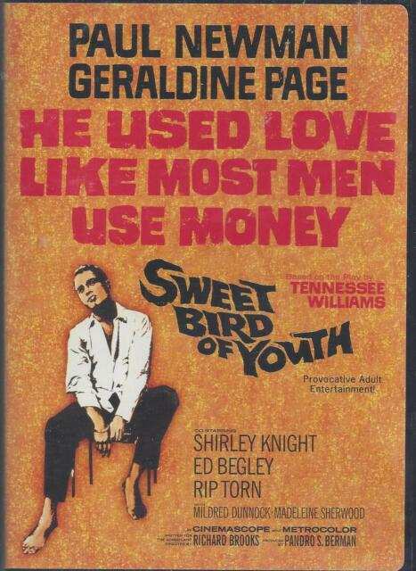 SWEET BIRD OF YOUTH PAUL NEWMAN GERALDINE PAGE Ed Begley Rip Torn NEW OOP DVD