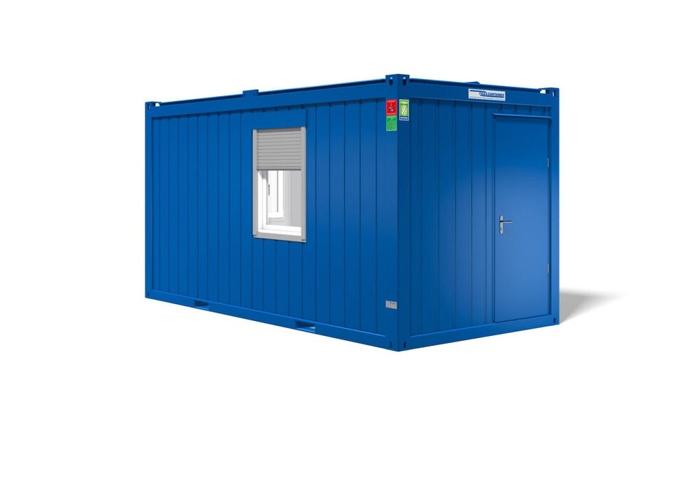 Lej en kontorcontainer hos ALPHA Containers A/S
