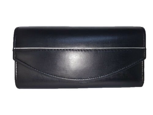 Stylish Real Leather Ladies Envelope Purse with 5 Card Slots
