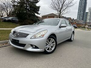 2011 Infiniti G25X AWD Navigation Free accidents
