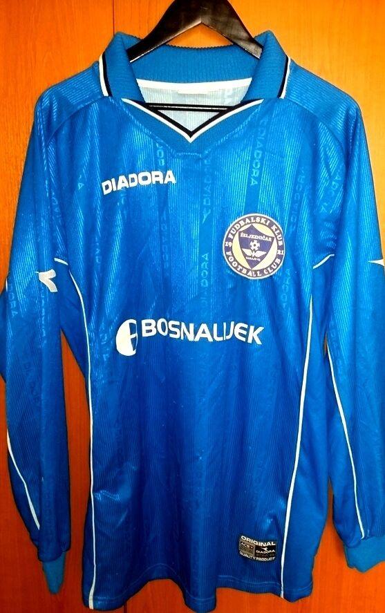 Trikot Fußball NK Zeljeznicar Dalibor Šilić 2002 2002 Šilić diadora xl blau 827d99