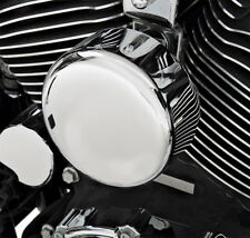 "Drag Specialties Chrome Horn Cover 4 5/8"" Harley Deluxe Deuce Dyna"