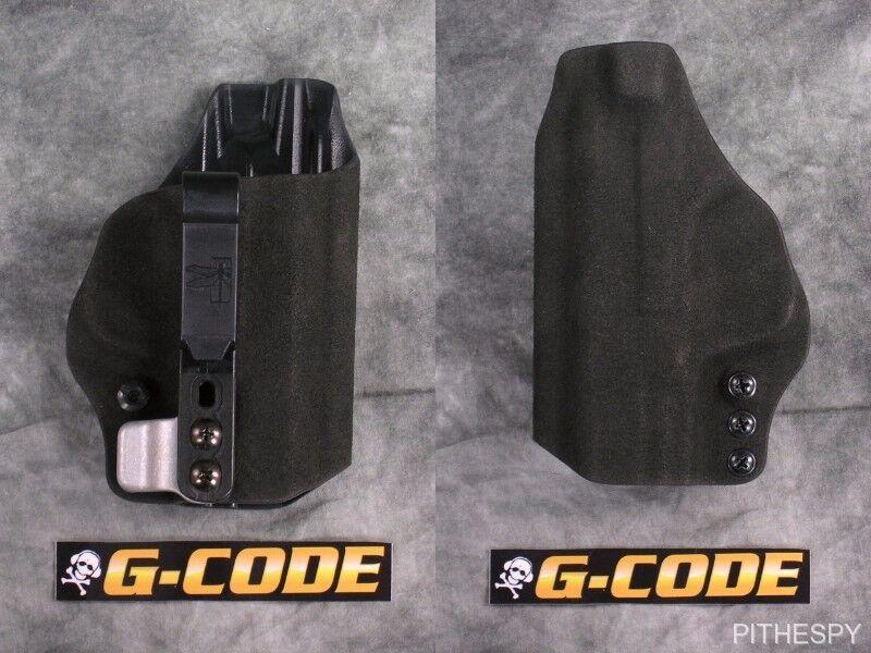 Haley Strategic G-code Incog Eclipse S&W M&P Compacto 3.5  media guardia dentro funda de la cintura