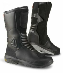 Details about NEW FALCO TOURANCE (OUTDRY) TOURING WATERPROOF MOTORCYCLE BOOT BLACK