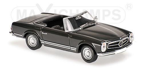 Minichamps 940032231-mercedes benz 230sl - 1965-grey 1 43