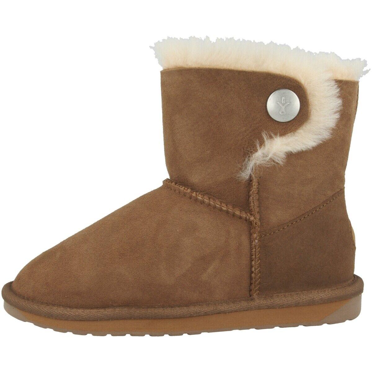 EMU Australia Ore damen Damen Schuhe Stiefel Freizeit Lammfell Stiefel W11788-E012