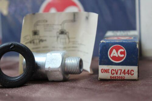 6483692 Vintage Nos and Nors AC DELCO PCV VALVE CV744C