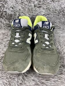 New-Balance-574-Green-Shoe-Men-s-Size-10-5-ML574JVC