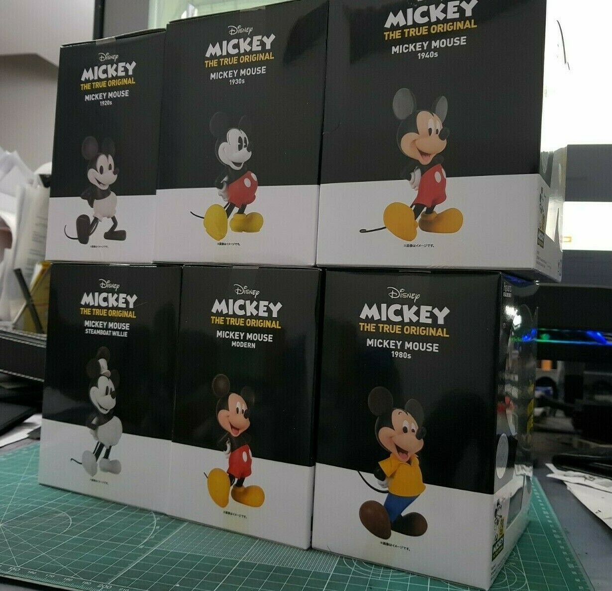 Bandai Figuarts ZERO Mickey Mouse - 90 years Magic-Full Collectible set