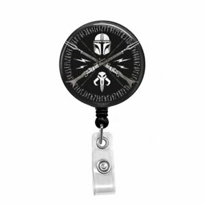 Retractable Badge Holder Badge Reel Lanyards Stethoscope Tag Smiley Face