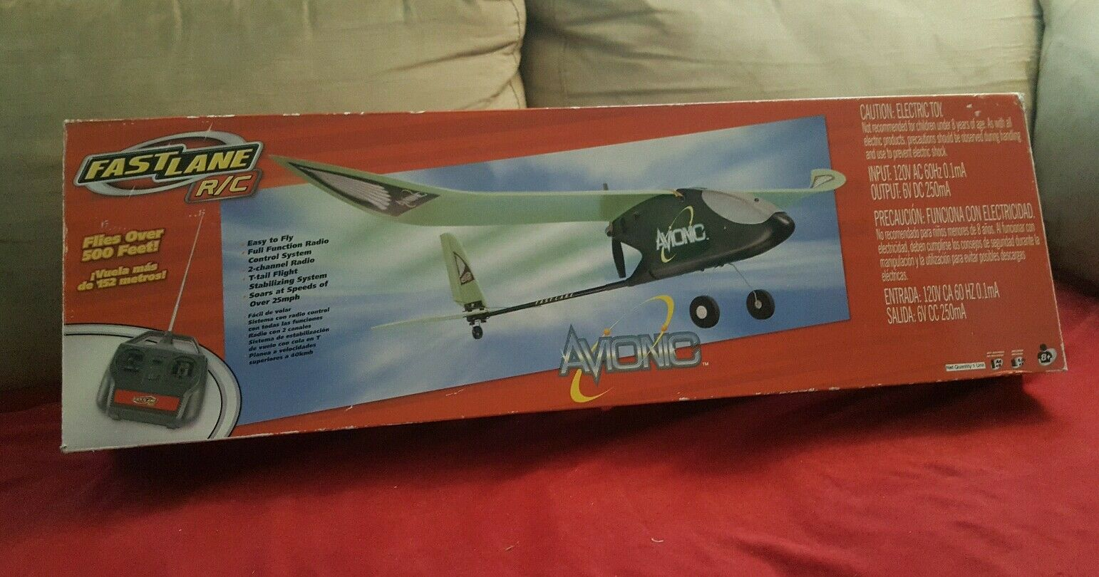 FASTLANE R/C AVIONIC KIT R/C Plane~ over 500FT high~ Learning Beginner
