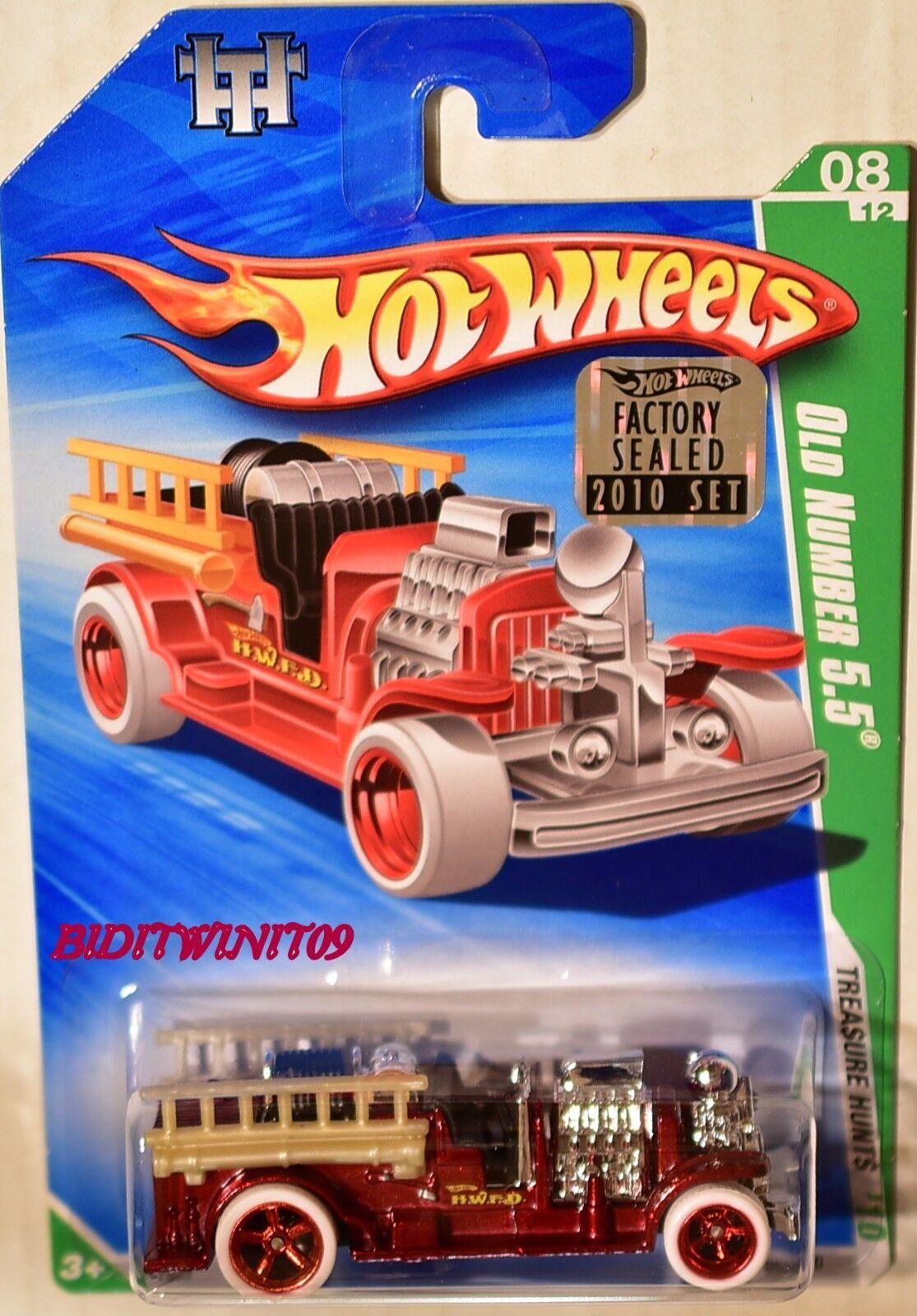 Hot Wheels 2010 Super Schatzsuche Alte Nummer 5.5 Fabrik Versiegelt mit +