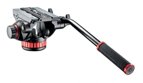 Manfrotto mvh502ah video cabeza pro fluid-Video-fotográfica 100 video-trípode cabeza