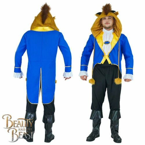 Beast Mens Costume Disney Beauty and the Beast Movie Adults Fancy Dress Outfit