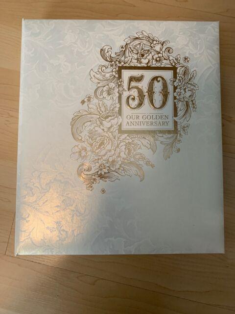 50th Wedding Anniversary Album Hallmark For Sale Online
