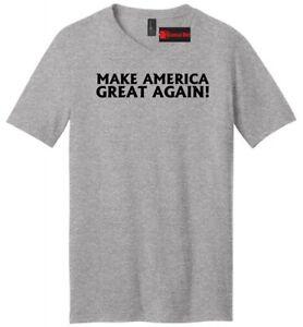 Make America Great Again Mens t-Shirt Donald Trump President mens V-Neck t shirt