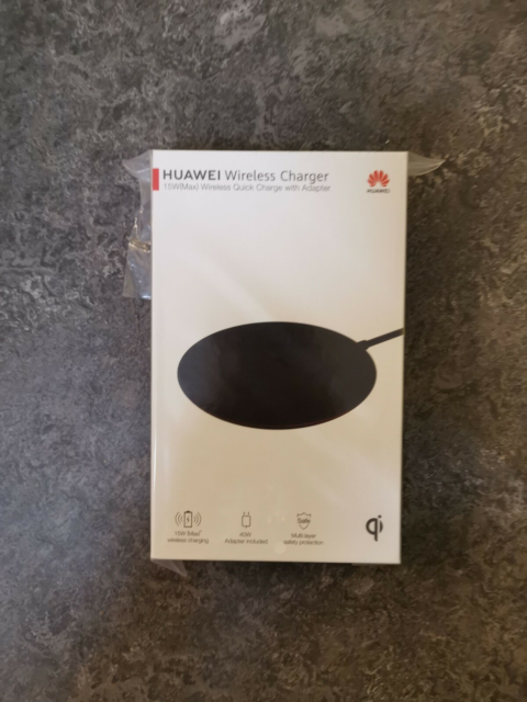 Oplader, t. HUAWEI, HUAWEI Wireless Quick Charge, Perfekt,…