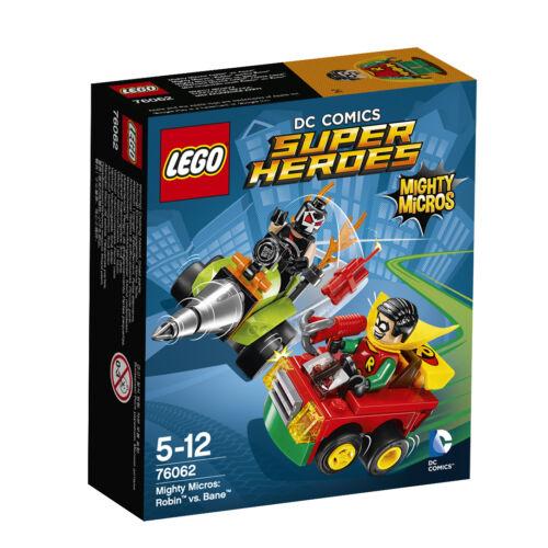 dans sa boîte scellée LEGO ® DC Comics ™ Super Heroes Mighty Micros Set 76061+76062 Nouveau neuf dans sa boîte New En parfait état