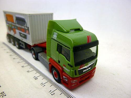 302104 Herpa 1:87 Man tgs LX euro 6 contenedor-remolcarse limitada
