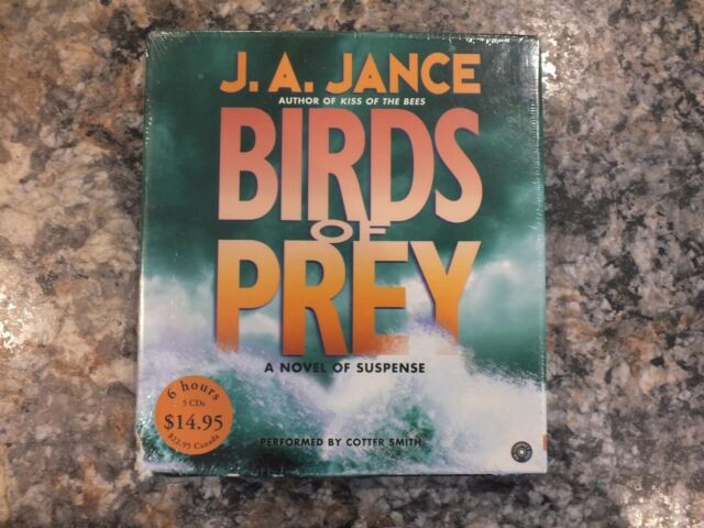 Birds of Prey by J.A. Jance 6 CD AUDIOBOOK Performed by Cotter Smith NEW