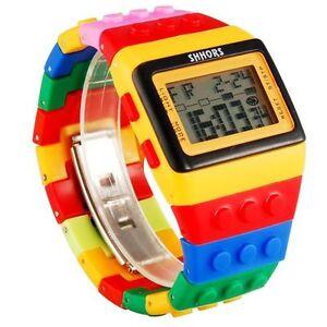7c8c39fa2f6e La imagen se está cargando Reloj-de-pulsera-Lego-Shhors-Gran-calidad-494-