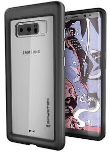 ghostek note 8  For Galaxy Note 8 Case | Ghostek ATOMIC SLIM Clear Hybrid Aluminum ...