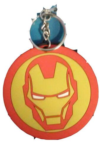Marvel RIP Tony Iron Man Avengers Soft Touch PVC Keychain Key Ring Licensed New