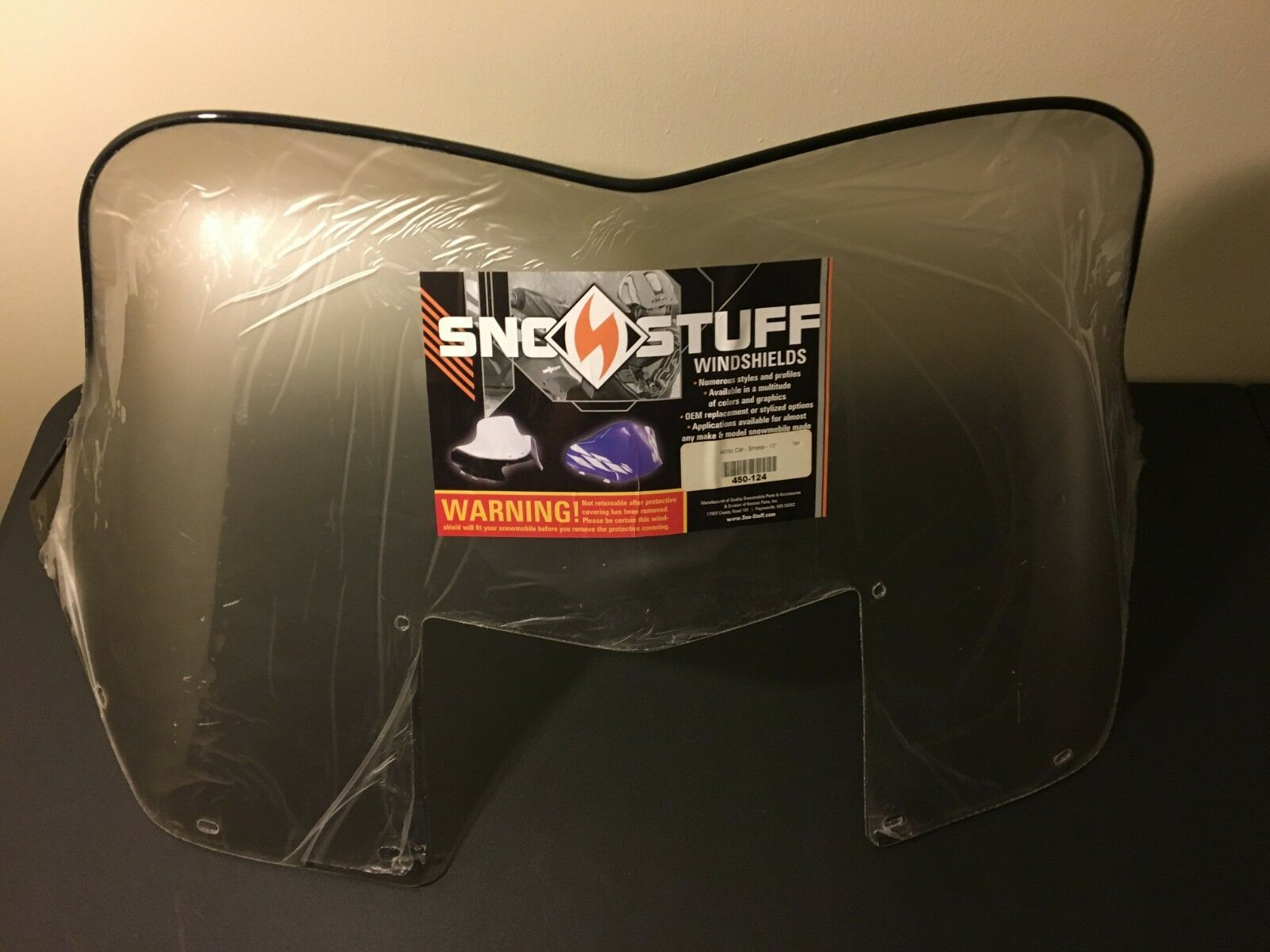 New Vintage Arctic Cat Sno Stuff Windshield '80 - '81 Jag 0117-213