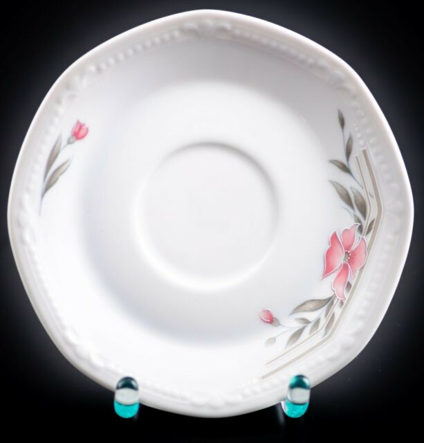 Mitterteich Sissi Rosa Blüte Form 2040 Kuchenteller Teller 19,3 cm