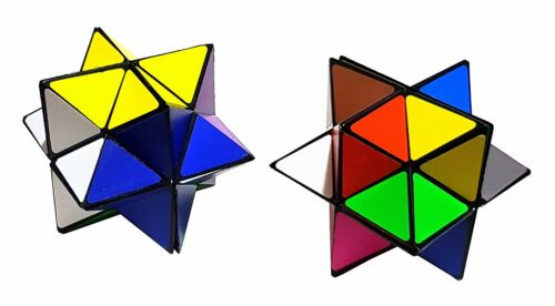 2er Set Magic Cube Magique Cube anti stress jouets habileté Trend