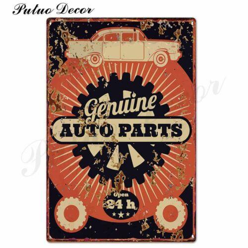 Vintage Garage Metal Sign Plaque DAD/'S GARAGE Retro Tin Sign Wall Poster for Men